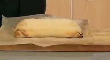 готовый рыбный пирог с рисом
