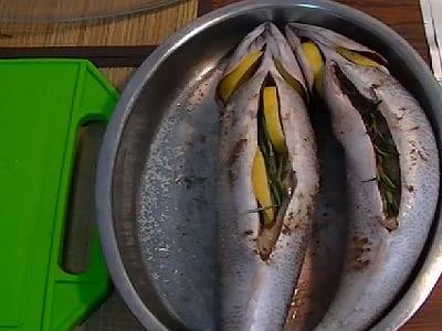 скумбрия в фольге с лимоном в духовке
