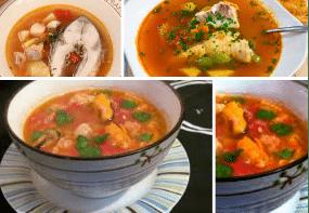 суп из рыбы скумбрии с овощами
