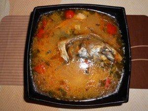 Суп из замороженной скумбрии рецепт с фото