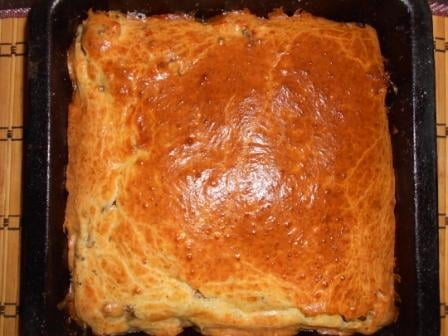 рыбный заливной пирог
