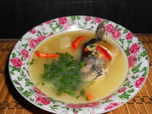 рыбный суп из свежей скумбрии рецепт с фото пошагово