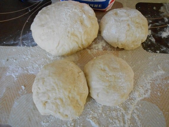 тесто для слоеных пирожков