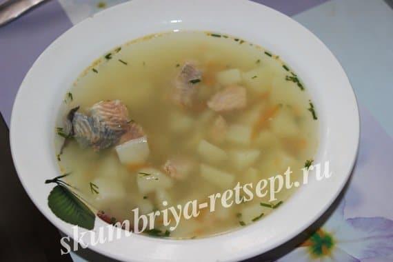 Этот вкусный суп и перекусить