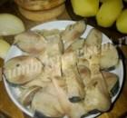 Рулет из маринованной скумбрии