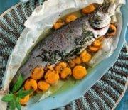 Морской окунь в духовке – вкусные простые рецепты