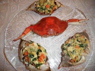 салат фаршированные крабы