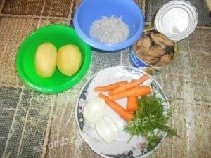 очистить продукты