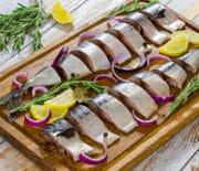 Скумбрия маринованная с горчицей: варианты приготовления