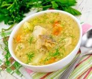Лучшие рецепты супа из свежемороженой скумбрии с пшеном