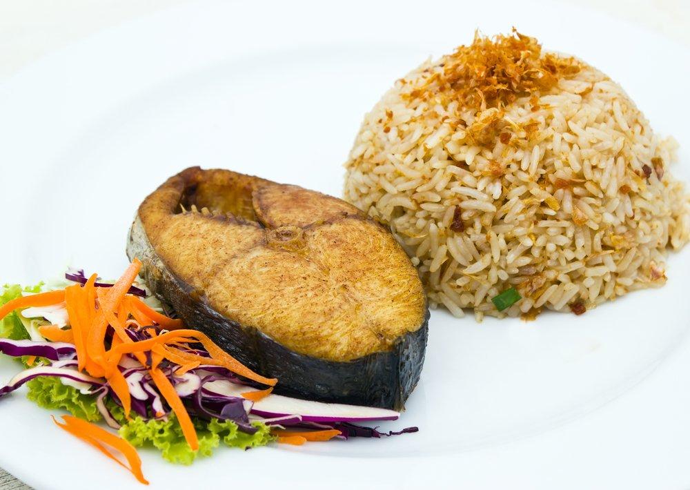 Рецепты запеченной скумбрии с рисом