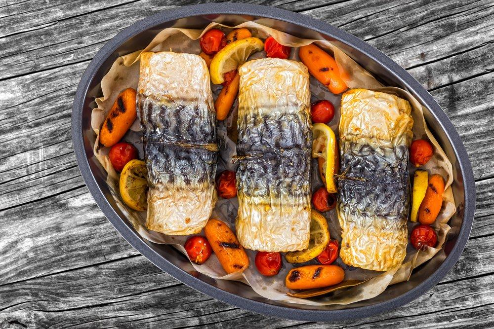 Рецепты рулетов из скумбрии в духовке